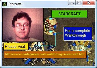 A strange Starcraft gizmo.